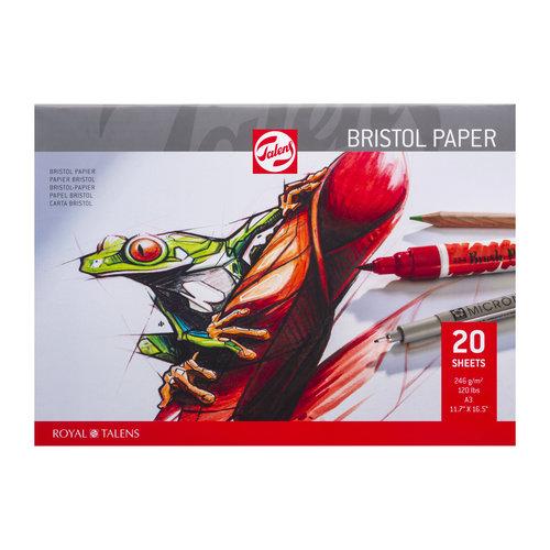Bristol Papier - A3 - 250 gram - 30 vellen
