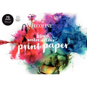 Royal Talens Ecoline Printerpapier - A4 - 150 gram - 75 vellen