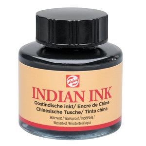 Royal Talens Oostindische Inkt Flacon - 700 Zwart - 30 ml