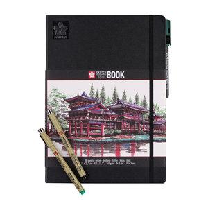 Sakura Schets en Notitieboek - A4 - Cremewit - 140 gram
