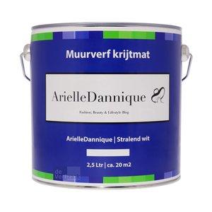 ArielleDannique Muurverf Krijtmat - 2,5 liter Stralend Wit