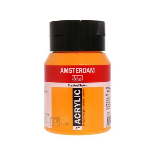 Royal Talens Amsterdam Acrylverf 500 ml Azooranje
