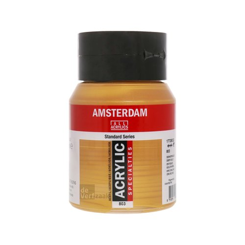 Royal Talens Amsterdam Acrylverf 500 ml Donkergoud