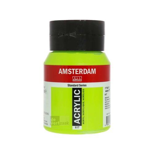 Royal Talens Amsterdam Acrylverf 500 ml Geelgroen