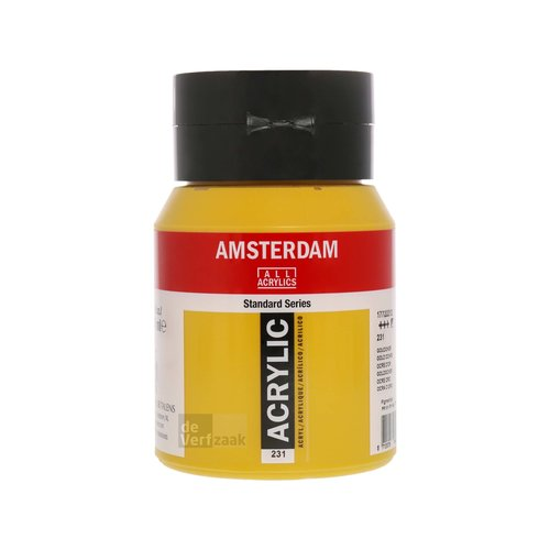 Royal Talens Amsterdam Acrylverf 500 ml Goudoker