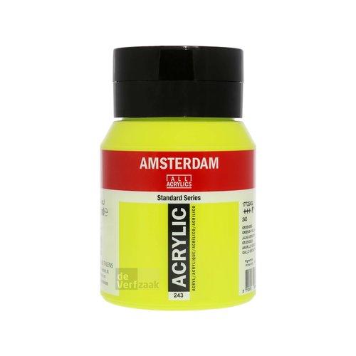 Royal Talens Amsterdam Acrylverf 500 ml Groengeel