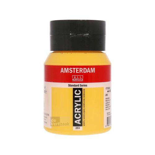 Royal Talens Amsterdam Acrylverf 500 ml Goudgeel