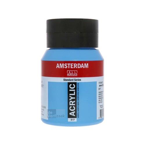 Royal Talens Amsterdam Acrylverf 500 ml Koningsblauw