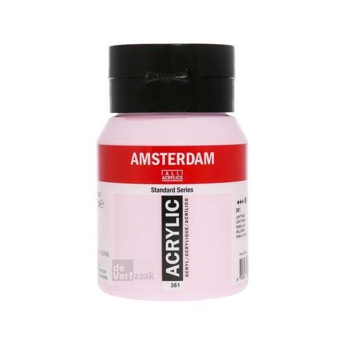 Royal Talens Amsterdam Acrylverf 500 ml Lichtroze
