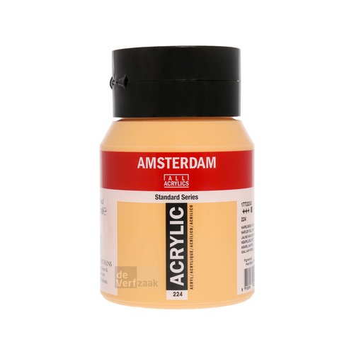 Royal Talens Amsterdam Acrylverf 500 ml Napelsgeel Rood