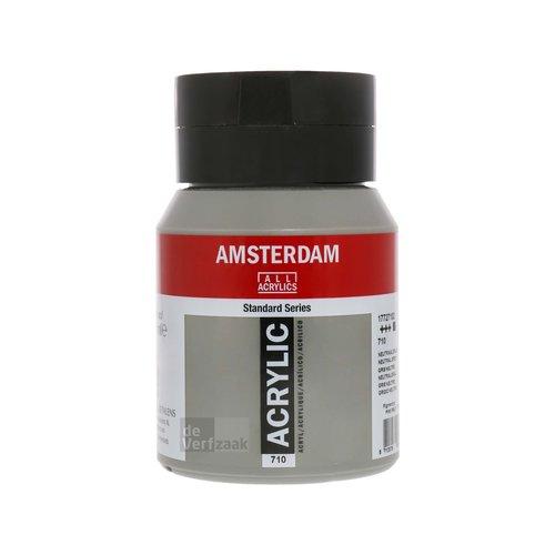 Royal Talens Amsterdam Acrylverf 500 ml Neutraalgrijs