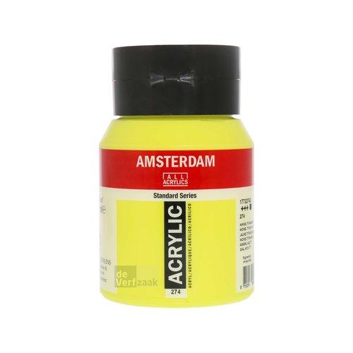 Royal Talens Amsterdam Acrylverf 500 ml Nikkeltitaangeel