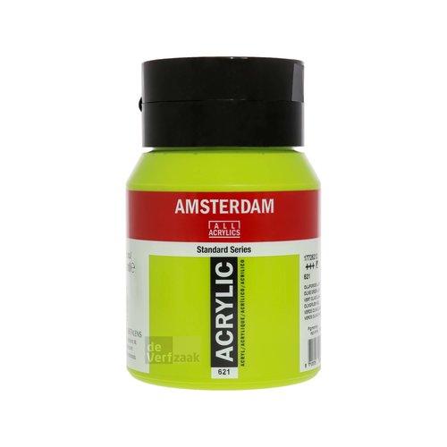 Royal Talens Amsterdam Acrylverf 500 ml Olijfgroen Licht