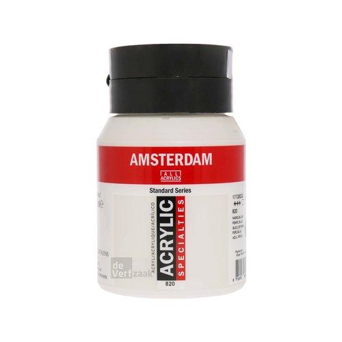 Royal Talens Amsterdam Acrylverf 500 ml Parelblauw