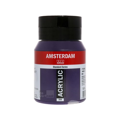 Royal Talens Amsterdam Acrylverf 500 ml Permanentblauwviolet
