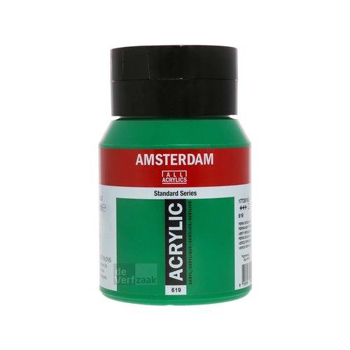 Royal Talens Amsterdam Acrylverf 500 ml Permanentgroen Donker
