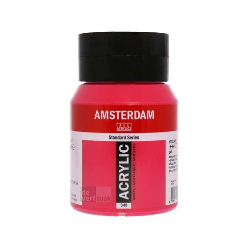 Royal Talens Amsterdam Acrylverf 500 ml Permanent Violet