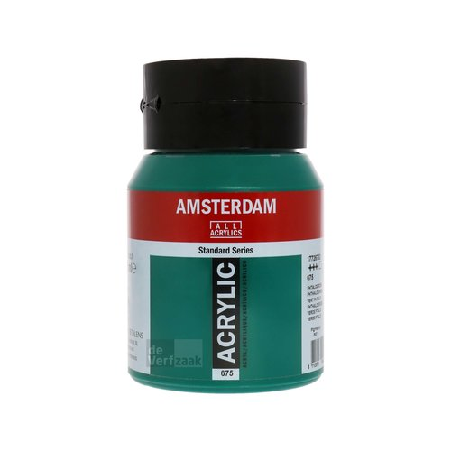 Royal Talens Amsterdam Acrylverf 500 ml Phtalogroen