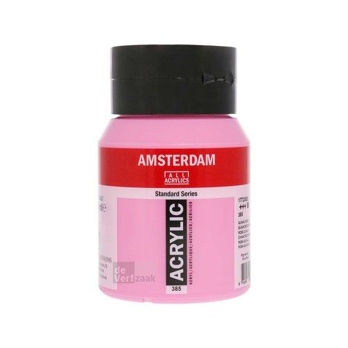 Royal Talens Amsterdam Acrylverf 500 ml Quinacridone Roze Licht