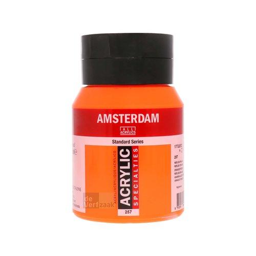 Royal Talens Amsterdam Acrylverf 500 ml Reflexoranje