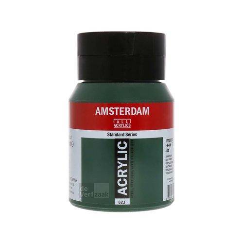 Royal Talens Amsterdam Acrylverf 500 ml Sapgroen