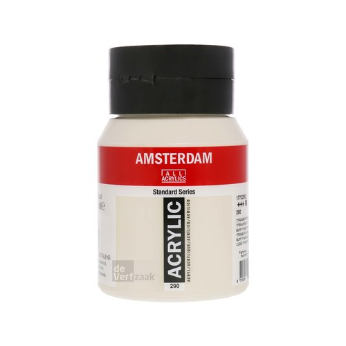 Royal Talens Amsterdam Acrylverf 500 ml Titaanbuff Donker