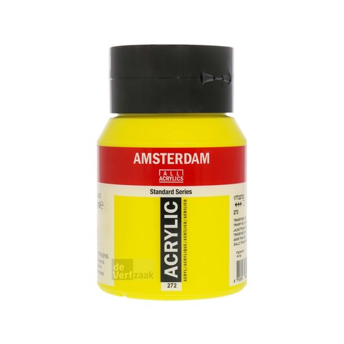 Royal Talens Amsterdam Acrylverf 500 ml Transparantgeel Middel