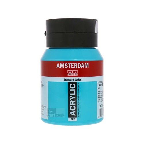 Royal Talens Amsterdam Acrylverf 500 ml Turkooisblauw