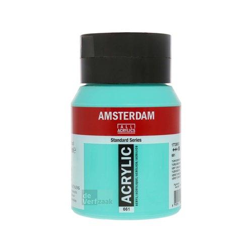 Royal Talens Amsterdam Acrylverf 500 ml Turkooisgroen