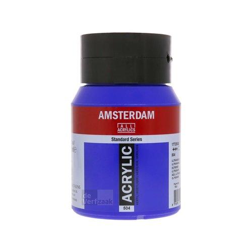 Royal Talens Amsterdam Acrylverf 500 ml Ultramarijn