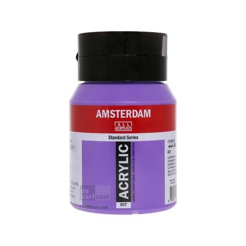 Royal Talens Amsterdam Acrylverf 500 ml Ultramarijn Violet