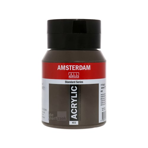 Royal Talens Amsterdam Acrylverf 500 ml Van Dijckbruin