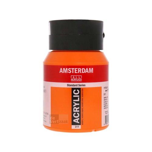 Royal Talens Amsterdam Acrylverf 500 ml Vermiljoen