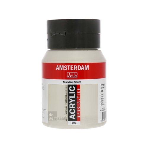 Royal Talens Amsterdam Acrylverf 500 ml Zilver