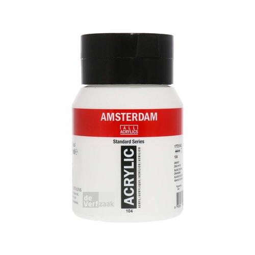 Royal Talens Amsterdam Acrylverf 500 ml Zinkwit