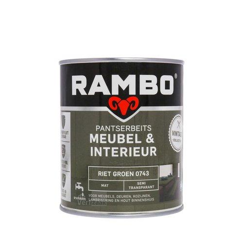 Rambo Pantserbeits Meubel & Interieur Mat 750 ml - Riet Groen