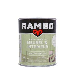 Rambo Pantserbeits Meubel & Interieur Mat 750 ml - Vintage Groen