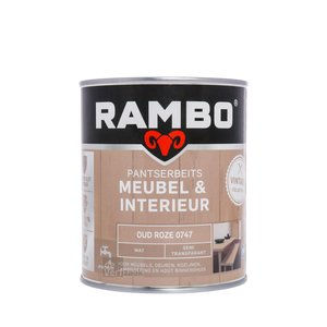 Rambo Pantserbeits Meubel & Interieur Mat 750 ml - Oud Roze