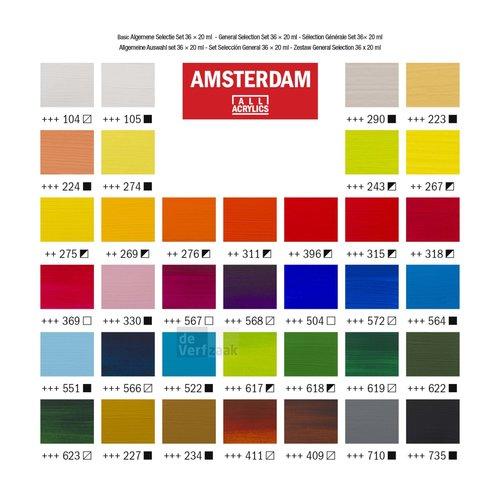 Amsterdam Set 36 x 20 ml