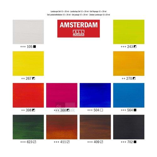 Amsterdam Set 12 x 20 ml - Landschap