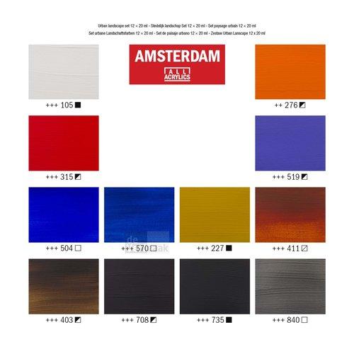 Amsterdam Set 12 x 20 ml - Stadslandschap