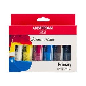 Amsterdam Set 6 x 20 ml - Primair