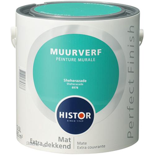 Histor Perfect Finish Muurverf Mat - Sheherazade - 2,5 liter