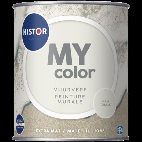 Histor My Color Muurverf Extra Mat - New Chalk - 1 liter