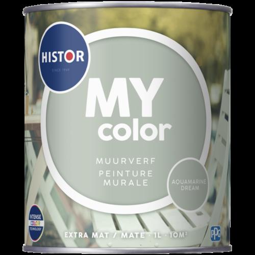 Histor My Color Muurverf Extra Mat - Aquamarine Dream - 1 liter