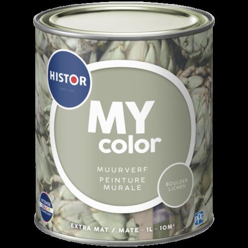 Histor My Color Muurverf Extra Mat - Boulder Lichen - 1 liter