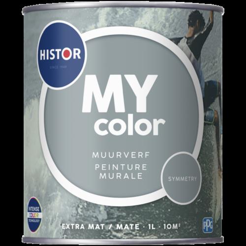 Histor My Color Muurverf Extra Mat - Symmetry - 1 liter