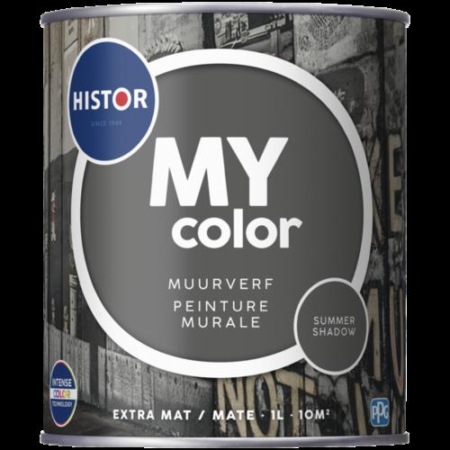 Histor My Color Muurverf Extra Mat - Summer Shadow - 1 liter