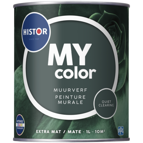Histor My Color Muurverf Extra Mat - Quiet Clearing - 1 liter