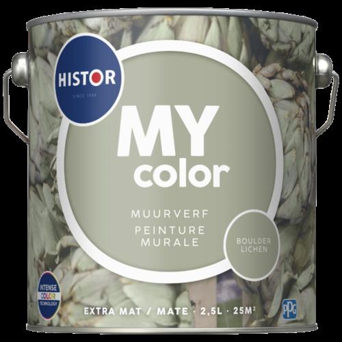 Histor My Color Muurverf Extra Mat - Boulder Lichen - 2,5 liter